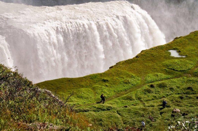 Gullfoss-Wasserfall - 2 , Island