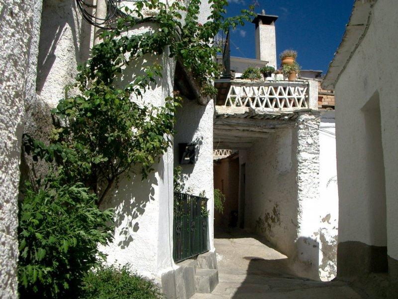 Maurisches Dorf Mecina, Sierra Nevada, Spanien